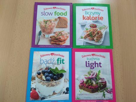 Książki, dieta, kalorie, fit