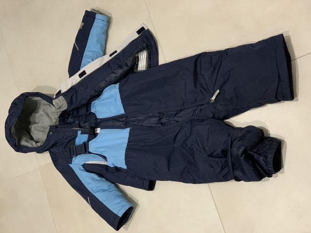 Детский костюм комбинезон куртка и штаны с подтяжками 24 м