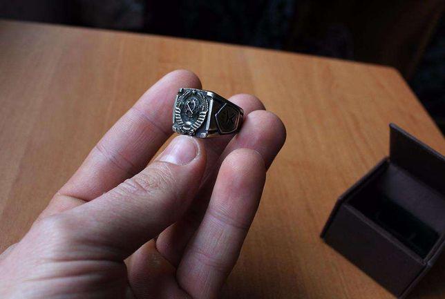 Массивный Серебряный Перстень СССР 20 мм