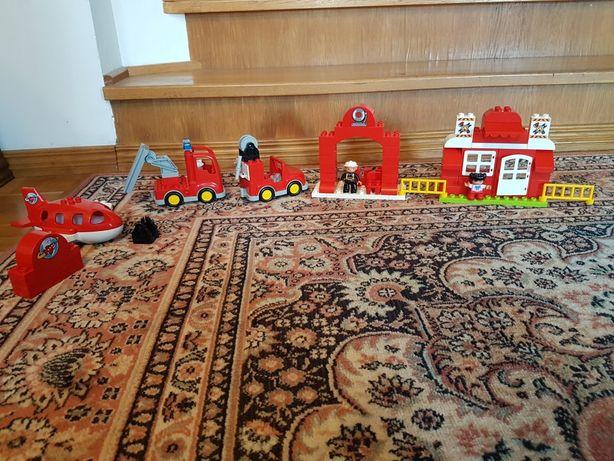 Klocki Lego Duplo Straz Pożarna plus Samolot