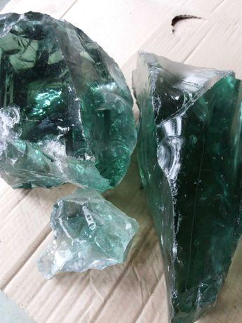 Эрклёз декоративный стеклянный камень.  4 гривны.