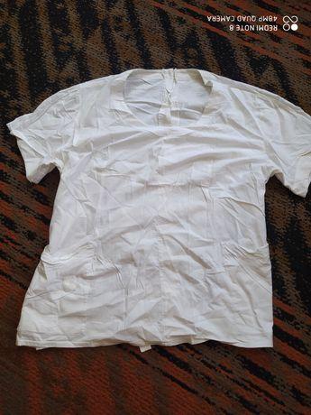 Блузка от медицинского костюма