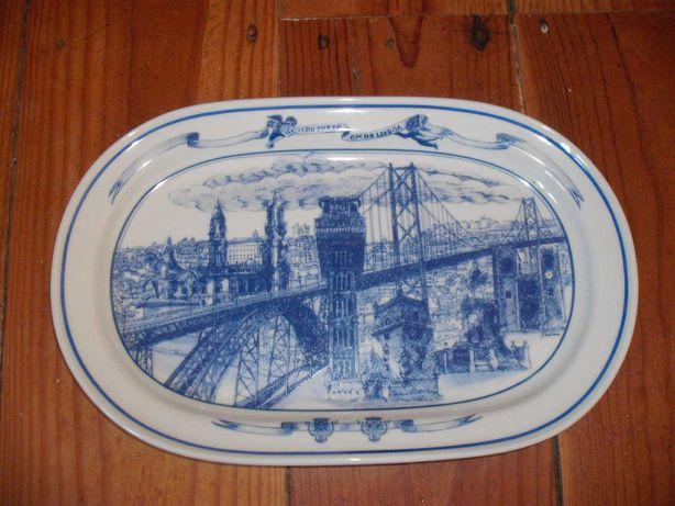 Porcelana Vista Alegre Travessa Comemorativa TLP