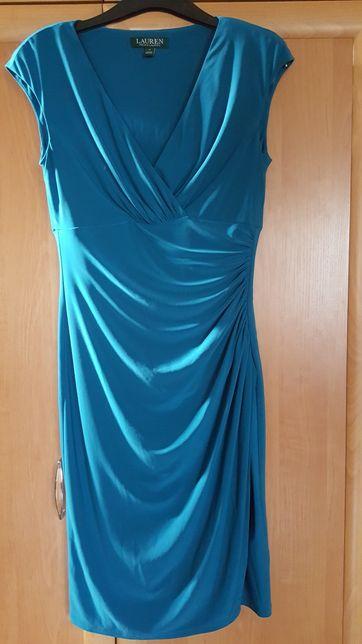 Okazja Ralph Lauren Ekskluzywna Sukienka wieczorowa suknia wesele