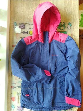 демисезонная куртка quechua детская