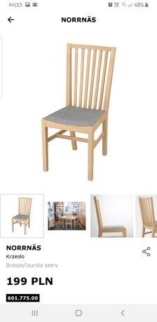 Krzesła Ikea Norrnas nowe 6 sztuk
