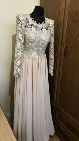 Suknia studniówkowa/weselna złota!