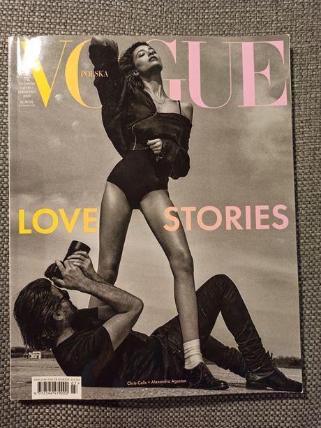 Vogue Polska - Love Stories - lipiec sierpień 2020 - nr 29/30