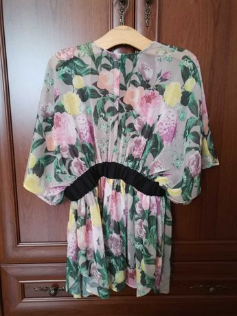 Piękne kimono H&M kwiatowy wzór