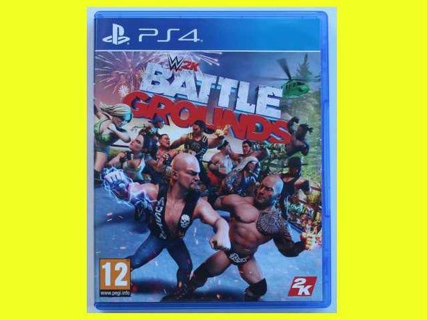 #lustro# WWE 2K Battlegrounds wrestling PS4 dla 4 graczy