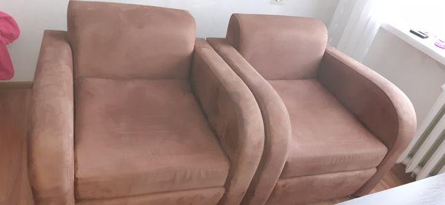 Fotele kolor brązowy