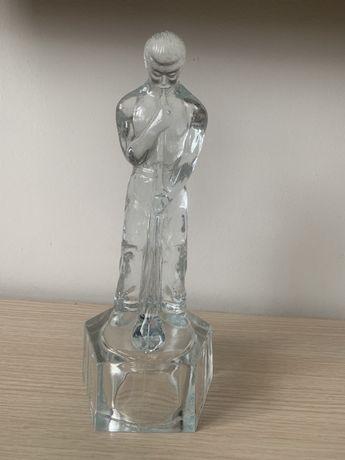 Szklany hutnik dmuchacz szkła Huta Ząbkowice