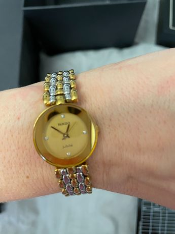 Часы Rado оригинал jubile с бриллиантами Cartier Chopard Chanel Rolex