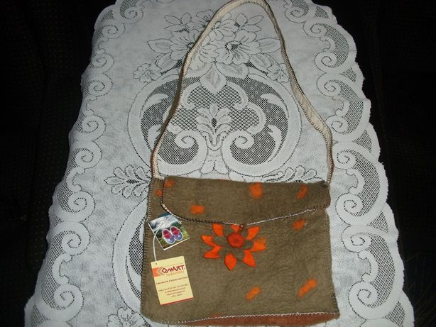 Torba torebka na ramię damska hand made ręcznie robiona Boliwia