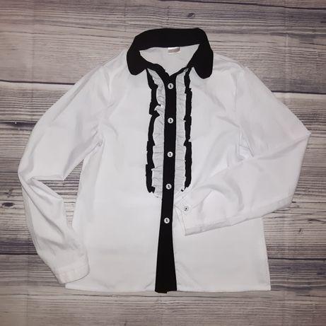 Школьная рубашка, блуза, р. 140-146