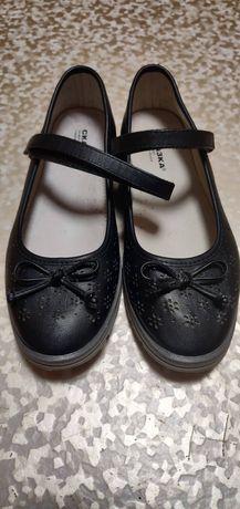 Туфельки детские черные