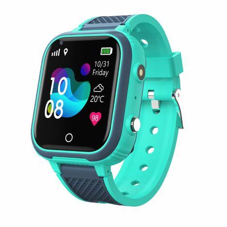 Smartwatch zegarek dla dzieci ANDROID GPS 4G WIDEOROZMOWY MENU PL