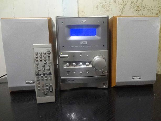 Продам музыкальный центр JVC. MP-3. Пульт. Документы.
