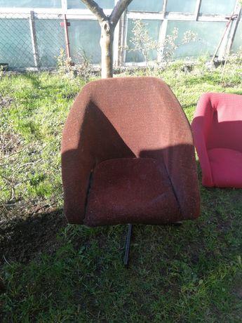 Fotel ewa muszelka prl