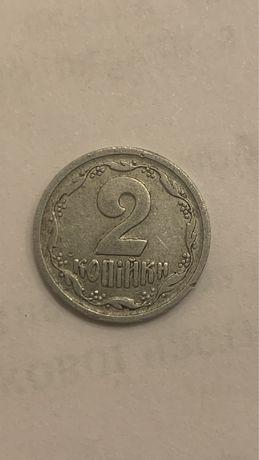 Продам или обменяю 2 копейки 1993 г серебро