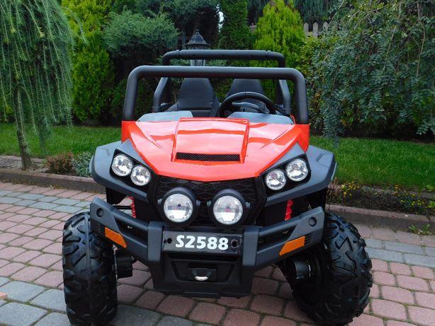 JAREX Auto-pojazd-Grand Buggy 4x4 Czerwony na akumulator