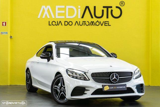 Mercedes-Benz C 220 Coupé Auto Teto Panoramico