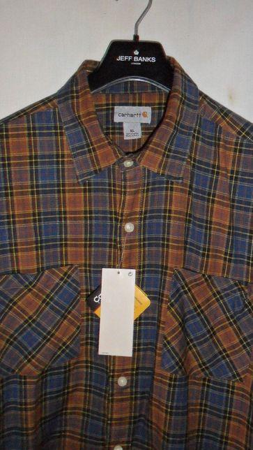 рубашка бренд коттон Carhartt Us xl(54-56)