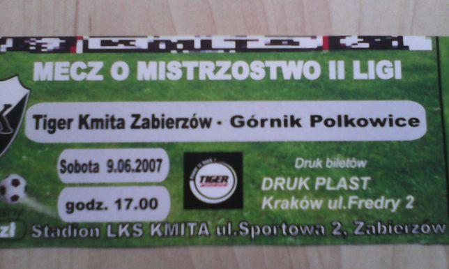 Kmita Zabierzów-Górnik Polkowice 9.06.2007