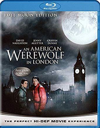 """An American Werewolf in London"" Blu-Ray USA bez PL"