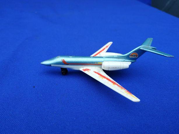 Игрушка модель самолёта металлическая