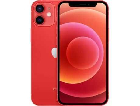 iPhone 12  mini vermelho