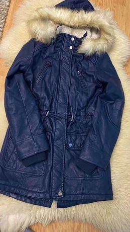 Куртка зимняя женская кожанная LCW TEEN (LC Waikiki)