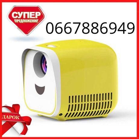 Портативный детский домашний карманный Лед проектор Vivibright L1