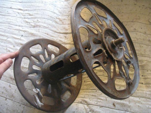 Szpula kołowrót niemiecki kabel radiotelegraf WH SS