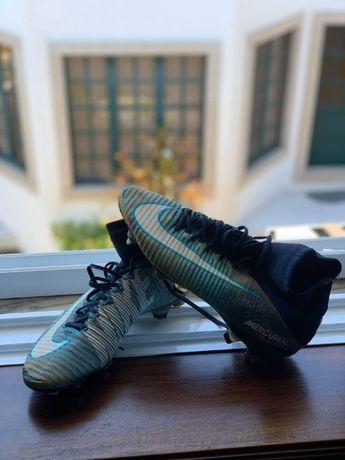 Chuteiras Nike Mercurial anti clog FG, tamanho 41