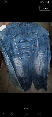 Katana. Bluza. Narzutka jeans