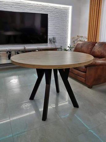 Stół okrągły loft