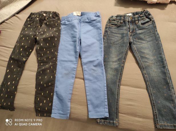 Leginsy spodnie stan b.dobry 110