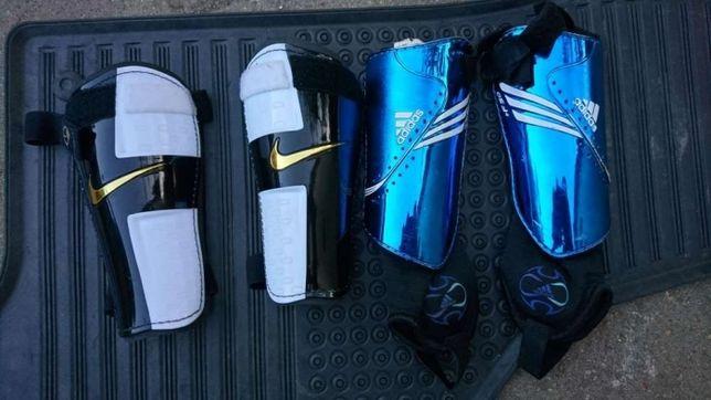 Ochraniacze piłkarskie adidas nike jak nowe.