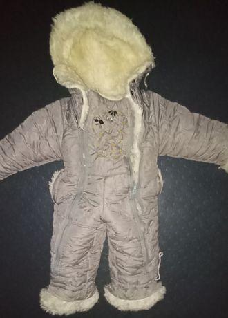 Продам тёплый комбинезон на ребёнка
