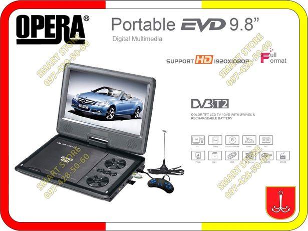 Портативные DVD, с T2, USB, аккумулятором, 12 Вольт