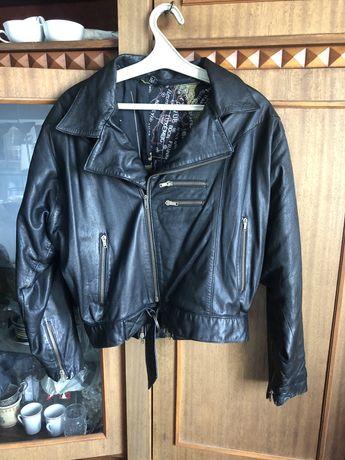 Куртка косуха винтаж кожа идеальное состояние