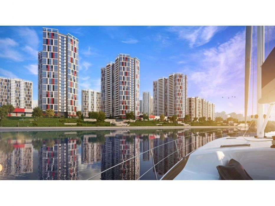 1к квартира ЖК Русановская гавань Киев - изображение 1