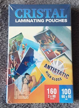 Folia laminacyjna na dokumenty, karty zestaw 100 szt