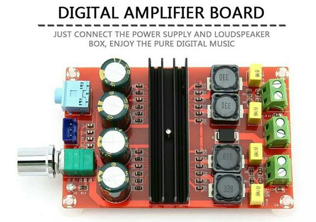 TPA3116 2*100 Вт Цифровой Усилитель мощности. питание 10-24 вольта