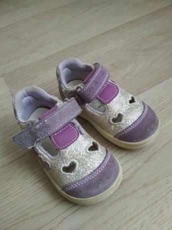 Кожаные туфли мокасины