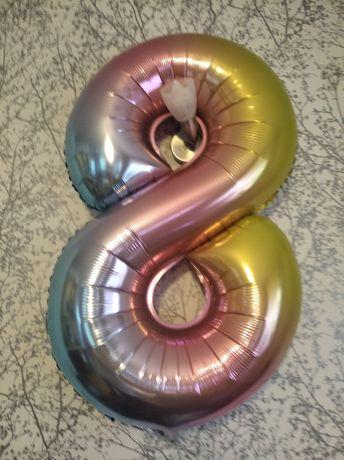 Balon urodzinowy 8 lat