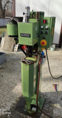 Nitownica radialna 5mm z podajnikiem nita