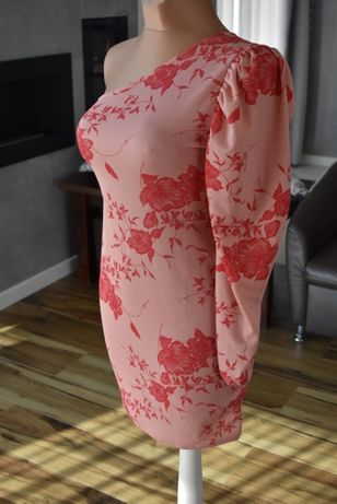 Sukienka missquided na jedno ramię L