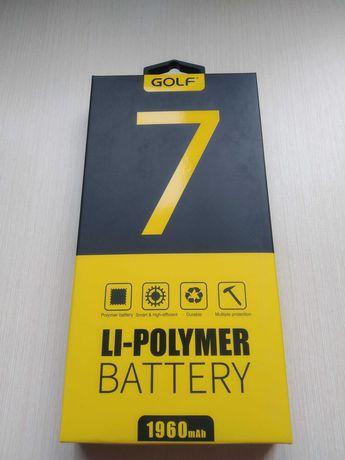 Акумулятор премиум класса Golf Li-polymer для iPhone 7